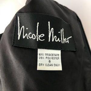 Nicole Miller Dresses - Nicole Miller New York Black Full Length Dress